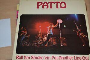PATTO   ROLL`EM SMOKE `EM PUT ANOTHER LINE OUT   LP  ILPS 9210 ORIGINAL  B1U/A1U