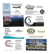 8  Washington Casino Business Cards