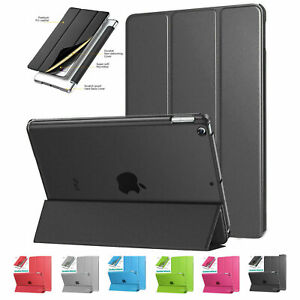 Smart Stand Magnetic New slim smart folding Leather Case Cover for Apple iPad
