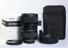 SIGMA Art 18-35mm / 1:1.8 DC, für Nikon F, 1 Jahr Gewährleistung