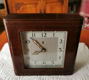 Old Vintage Bakelite Electric Clock (wires cut)