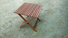 Garden peru folding side table