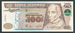 GUATEMALA  100  QUETZALES  2008  P -119  UNC