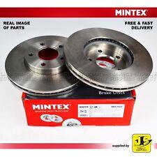 2X Mintex Disque de Freins Avant Ford C-Max Focus II Volvo C30 C70 II S40 II V50 545