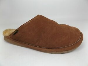 Old Friend Men's Scuff Sheepskin Moccasin Slip On Comfort Slipper Size 10.5-11.5