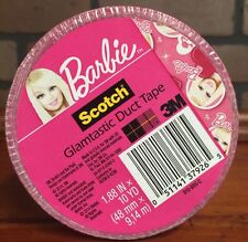Scotch Duct Tape 1.88 X 10 Yards Barbie Glamtastic (910-BBG-C) New Stock 489
