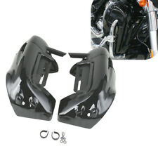 Lower Vented Leg Fairings Glove Box For Harley Touring Road Street Glide 83-13