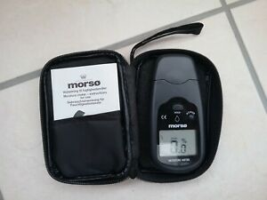 Morso Firewood Moisture Tester Boxed with instructions and case.