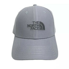 The North Face Strapback Hat Men's One Size Adjustable Gray Dad Cap New