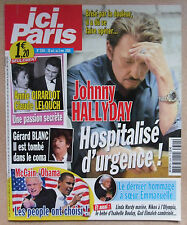 ICI PARIS N° 3304 JOHNNY HALLYDAY ANNIE GIRARDOT CLAUDE LELOUCH GERARD BLANC