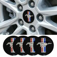 4x 65MM FORD MUSTANG GT ECOBOOST WHEEL CENTER CAP DECAL STICKERS COBRA CAPS