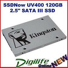 "Kingston UV400 120GB SSDNow SUV400S37 SATA 3 2.5"" 7mm SSD MACBOOK & Windows PC"