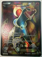 FULL ART Houndoom EX ULTRA RARE 153/162 BREAKThrough Pokemon TCG Holo Foil - LP