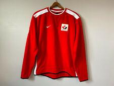 VIntage Nike IIHF Canada HOCKEY Crewneck Fleece Pullover Sweatshirt Olympics S