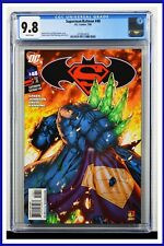 Superman Batman #48 CGC Graded 9.8 DC July 2008 White Pages Comic Book
