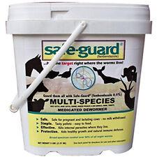 Safe-Guard Cattle Multi Species Wormer .5% 5 Pounds Alfalfa Based Pellets