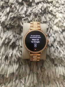 Fossil Women's Gen 4 Q Venture HR Stainless Steel Smartwatch