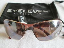 Eyelevel Carey marrón/oro Santorini Gafas Sol. Nueva.