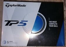 2017/18  AUTHENTIC TaylorMade TP5 Golf Balls New in Box 4 dozen