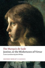 Sade, Marquis de-Justine, Or The Misfortunes Of Virtue BOOK NEW