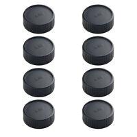 8 Pcs Rear Lens Cap for Leica M Mount DSLR Replacement