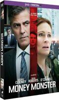 DVD :  MONEY MONSTER [ G. Clooney, J. Roberts, J. O'Connell ] NEUF scellé