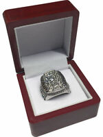 2010 Chicago Blackhawks TOEWS Stanley Cup SP Brass Championship Ring & Wood Box
