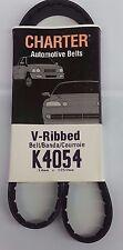 Serpentine Belt-Automotive V-Ribbed Belt (Standard) Gates Charter K4054