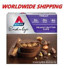 Atkins Endulge Peanut Butter Cups Treats 6 Oz 10 Ct WORLDWIDE SHIPPING