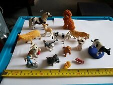 Plastic toy animals mixed lot a1
