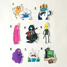 ADVENTURE TIME Sticker Finn & Jake & Ice King & Princes Bublegum & BMO