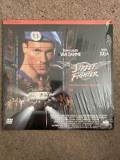 Laserdisc LD Street Fighter Jean Claude Van Damme Laser Disc Movie