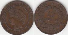 Monnaie Française 10 centimes Cérès 1871 A