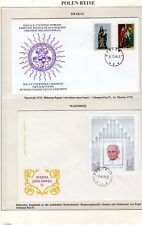 Pope John Paul II Papal Trips Collection 100 Covers Lindner VATICAN VATICANO