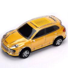 JKR CRYSTAL CAR MINI SPEAKER WITH LED LIGHT BLUETOOTH SPEAKER - DS-998BT