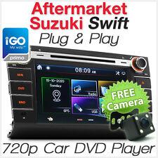 "8"" Suzuki Swift Car DVD Player GPS Head Unit Stereo Radio Tunzup RS415 iGO Primo"