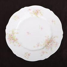 Theodore Haviland Limoges France Flower Pattern Dinner Plate