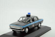 Rare !! Volga Gaz 24 Milicya Road Police USSR 1/43