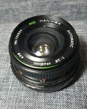 Vintage Hanimex Lens MC Automatic 1:2.8 f=28mm No. 136839 - Excellent condition