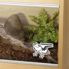 Customised Bearded Dragon Tank Vinyl Decal Sticker Reptile Vivarium Car Window