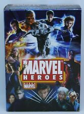 Marvel Heroes movie boxset - 8 DVD + Rare Marvel Collectibles DVD and Comics