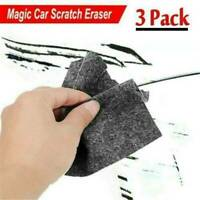 3x Magic Car Scratch Repair Cloth Remover Surface Eraser Fast Fix Nano Scratch .