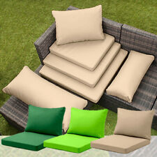 More details for rattan furniture replacement cushions sofa water resistant garden covers pads