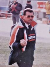 Mike Ditka Giving The Bird Color Photo Size 16 x 11 Left Side 3/16 Black Edge