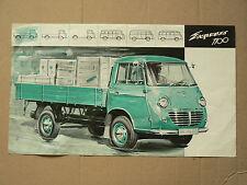 Prospectus Camion GOLIATH Express 1100  brochure catalogue truck poster LKW