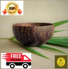 Coconut Shell Bowl Natural Eco Friendly Creative Handmade Art Home Decoration