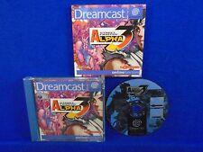 Sega Dreamcast STREET FIGHTER ALPHA 3 *x Promo Full Game Boxed COMPLETE PAL