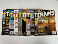 Trains Magazine Lot Of 10 Magazines From 2003 / 2004  Train Enthusiasts