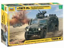 ZVEZDA 3683 RUSSIAN ARMORED VEHICLE TIGER-M W/ARBALET SCALE MODEL KIT 1/35 NEW