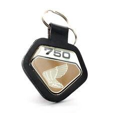 Honda CB 750 Four K0 Schlüsselanhänger Emblem Gold Leder Key Fob Chain SOHC